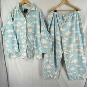 Nick & Nora Fleece Cloud Pajama Set XXL